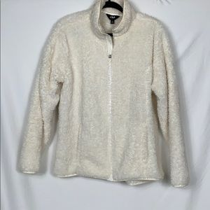 Fila sport white fury jacket size XL